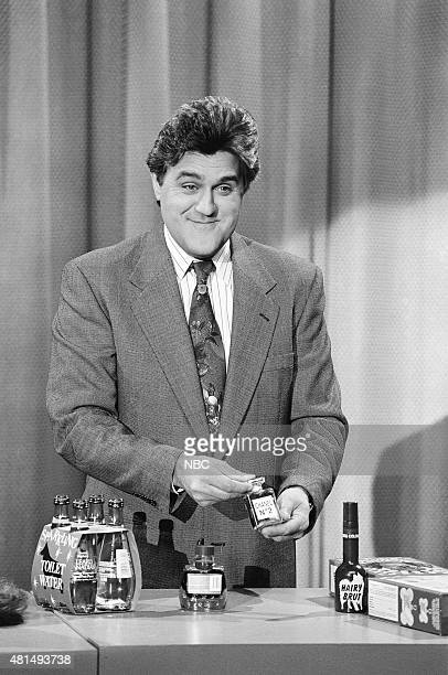 Guest host Jay Leno during 'Pet Products' on December 20 1990