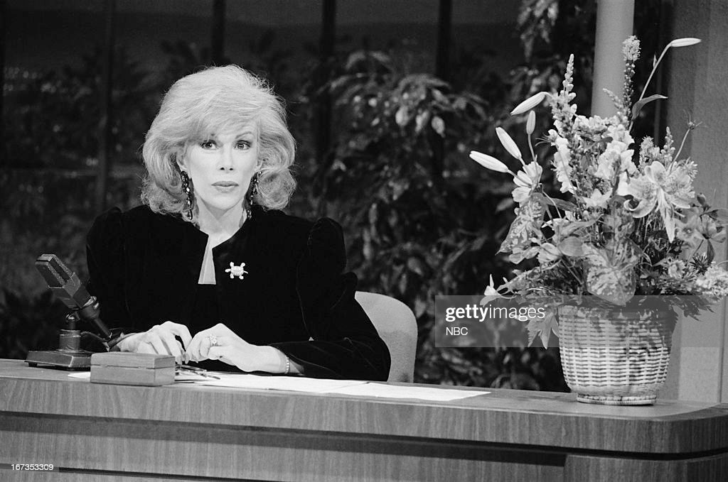 Guest host Joan Rivers on September 28, 1983 --
