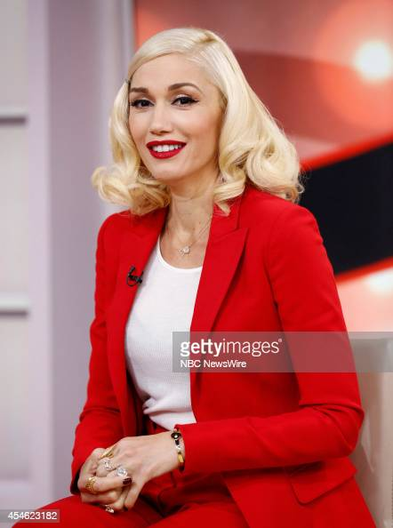 Gwen Stefani appears on NBC News' 'Today' show