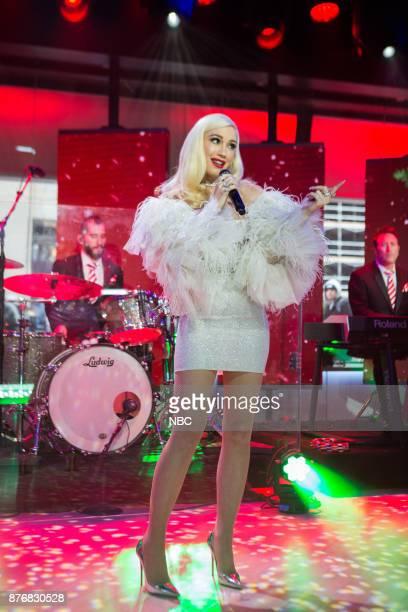 Gwen Stefani on Monday November 20 2017