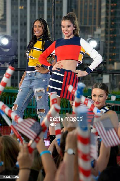 S FOURTH OF JULY FIREWORKS SPECTACULAR Pictured Hailee Steinfeld rehearses for the 2017 'Macy's Fourth of July Fireworks Spectacular'