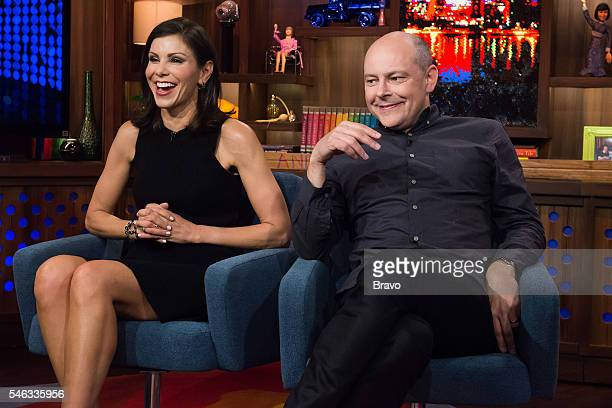 Heather Dubrow and Rob Corddry