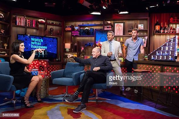 Heather Dubrow Rob Corddry Andy Cohen and Sean Kleier