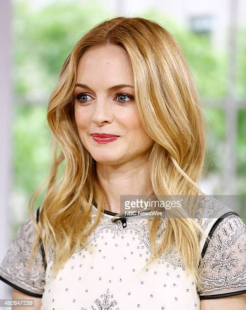 Heather Graham appears on NBC News' 'Today' show