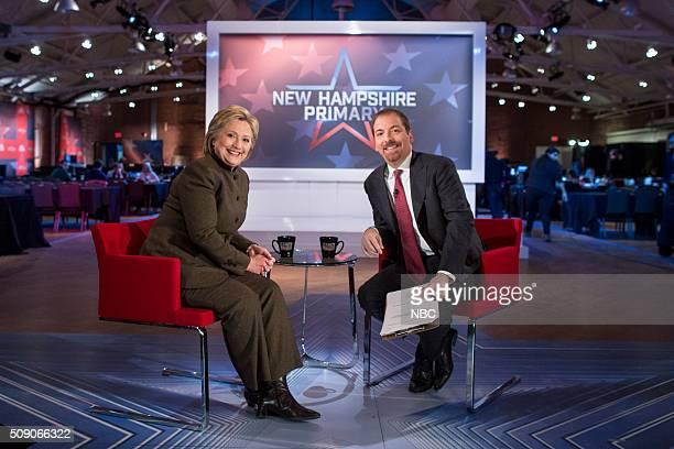 Hillary Clinton Chuck Todd