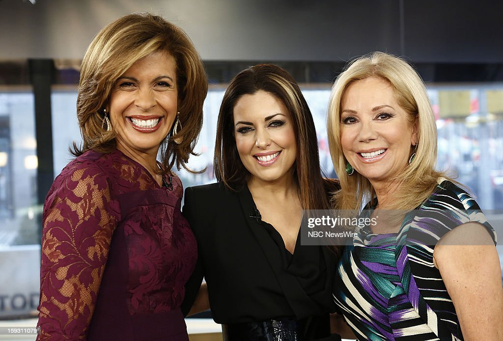 Hoda Kotb and, Bobbie Thomas and Kathie Lee Gifford appear on NBC News' 'Today' show --