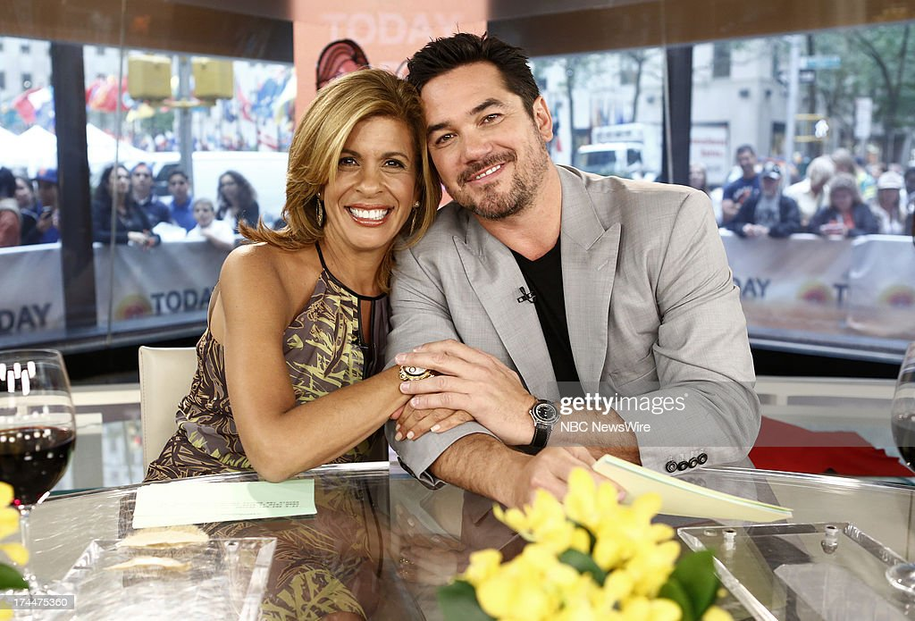 Hoda Kotb and Dean Cain appear on NBC News' 'Today' show --