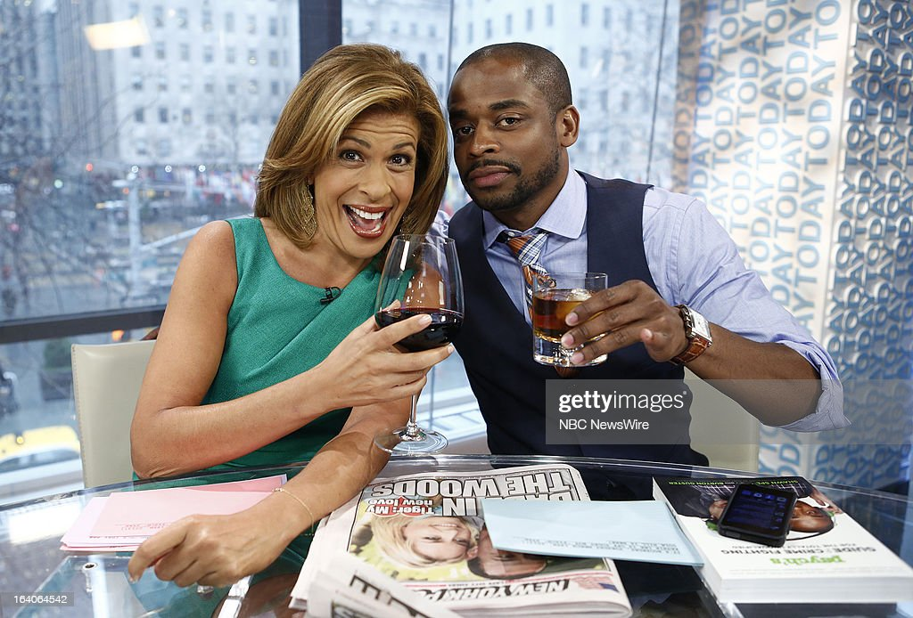 Hoda Kotb and Dule Hill appear on NBC News' 'Today' show --