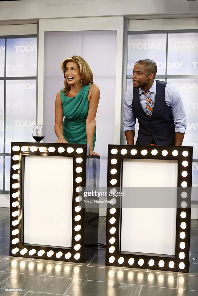 <a gi-track='captionPersonalityLinkClicked' href=/galleries/search?phrase=Hoda+Kotb&family=editorial&specificpeople=2338013 ng-click='$event.stopPropagation()'>Hoda Kotb</a> and <a gi-track='captionPersonalityLinkClicked' href=/galleries/search?phrase=Dule+Hill&family=editorial&specificpeople=213248 ng-click='$event.stopPropagation()'>Dule Hill</a> appear on NBC News' 'Today' show --
