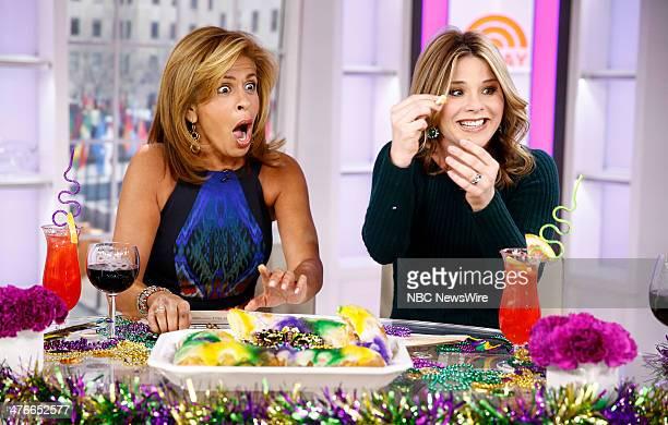 Hoda Kotb and Jenna Bush Hager appear on NBC News' 'Today' show