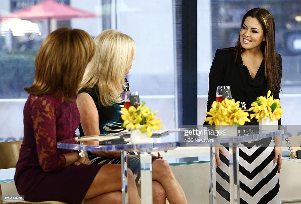 Hoda Kotb and Kathie Lee Gifford and Bobbie Thomas appear on NBC News' 'Today' show --
