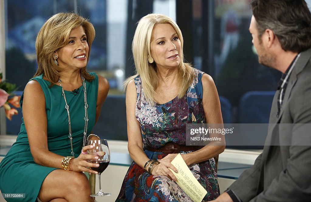 Nbc 39 s today with guests tony danza blake shelton randy - Nbc today show kathie lee and hoda ...