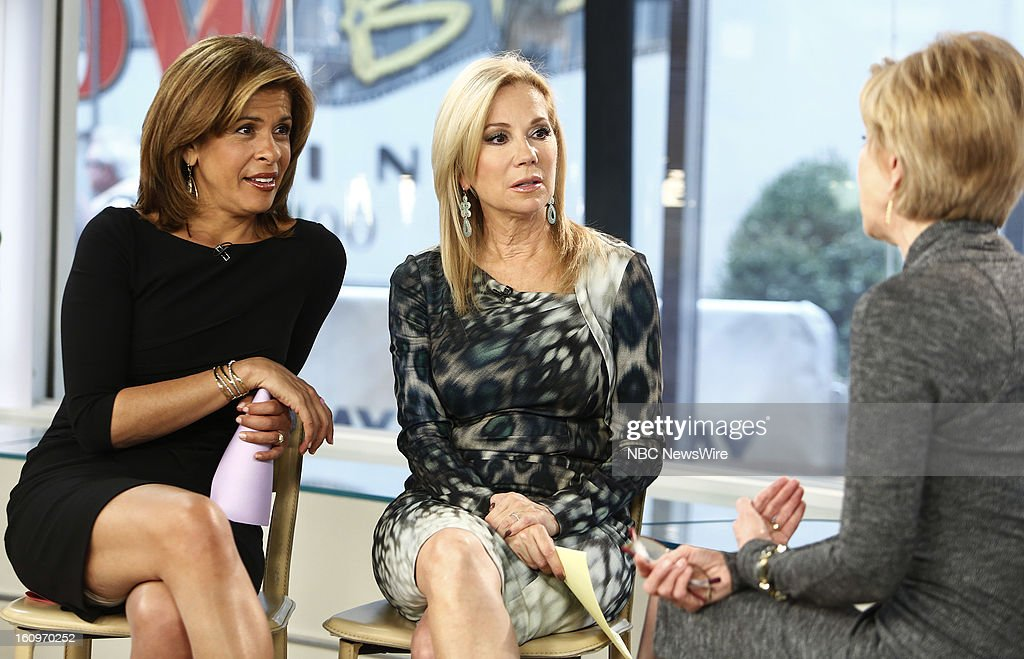 Hoda Kotb and Kathie Lee Gifford appear on NBC News' 'Today' show --
