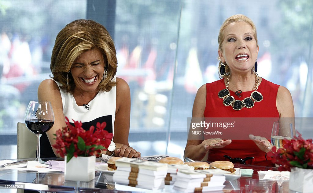 Nbc 39 s today with guests kate snow john stamos carl - Nbc today show kathie lee and hoda ...