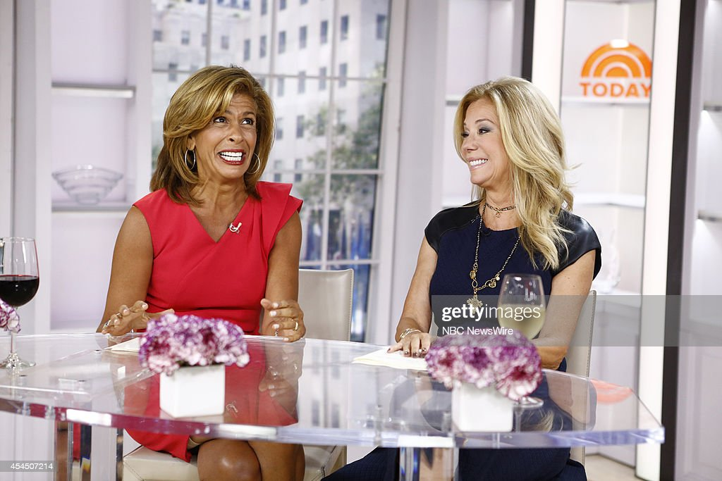 Nbc 39 s today with guests counting crows seth green - Nbc today show kathie lee and hoda ...
