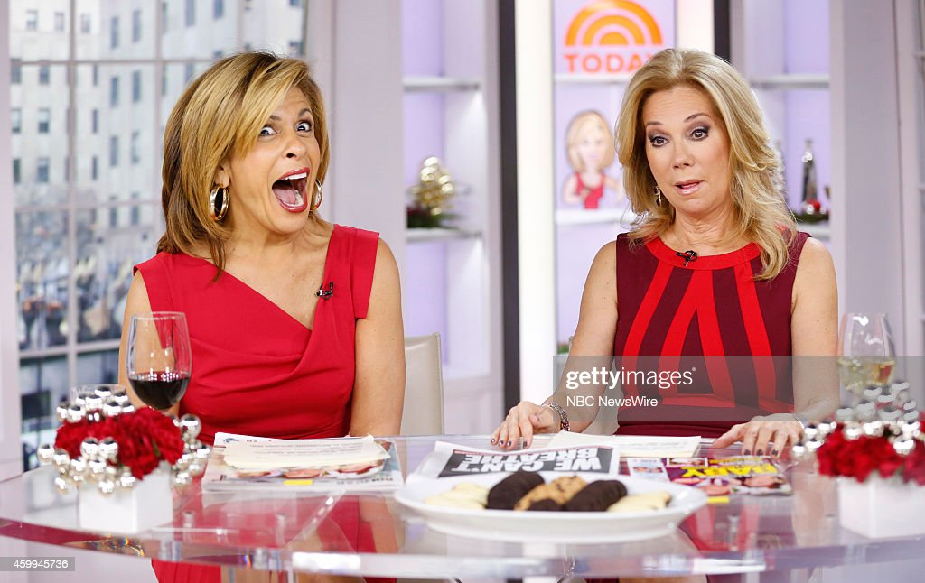 Nbc 39 s today with guests esaw snipes garner jessie james - Nbc today show kathie lee and hoda ...