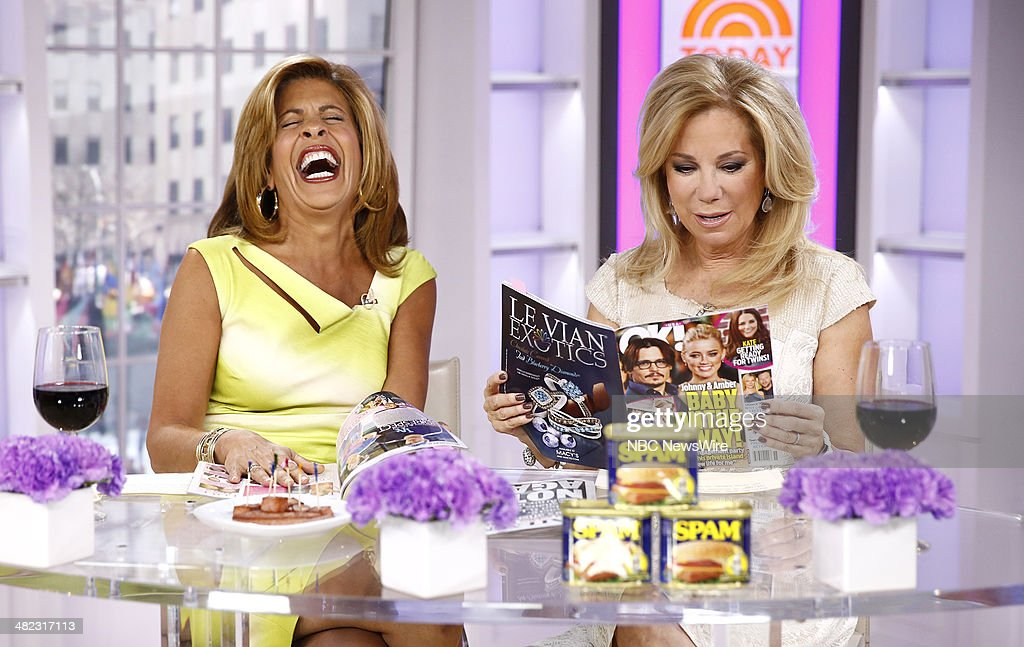 Nbc 39 s today with guests idina menzel christian slater - Nbc today show kathie lee and hoda ...