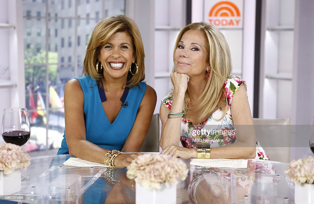 Hoda kotb and kathie lee gifford appear on nbc news today show