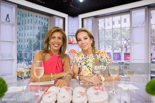 Hoda Kotb and Kathie Lee Gifford on Friday August 18 2017