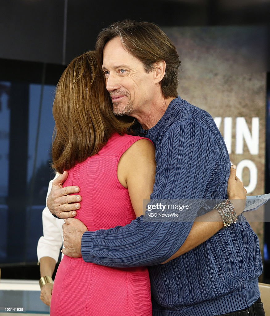 Hoda Kotb and Kevin Sorbo appear on NBC News' 'Today' show --