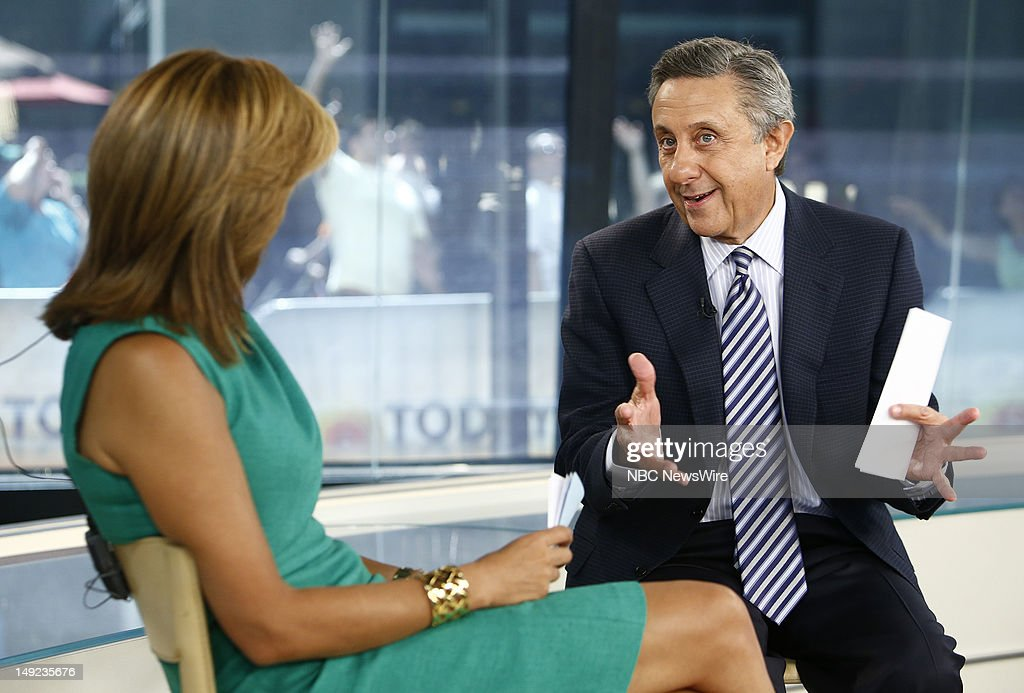 Hoda Kotb and Len Berman appear on NBC News' 'Today' show --