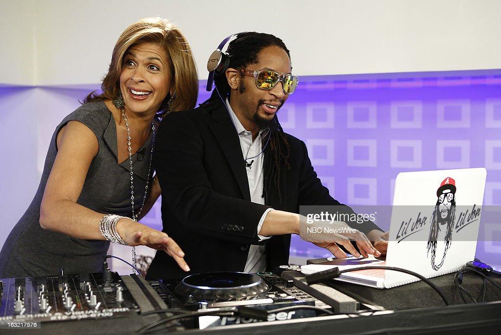 Hoda Kotb and L'il Jon appear on NBC News' 'Today' show --