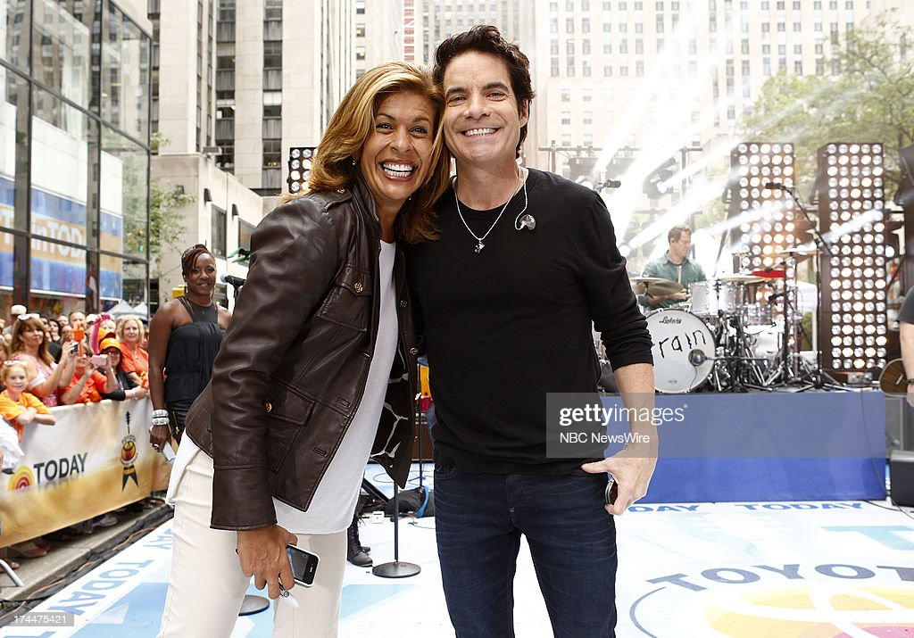 Hoda Kotb and Pat Monahan appear on NBC News' 'Today' show --