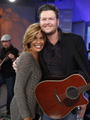 Hoda Kotb and singer Blake Shelton appear on NBC News' 'Today' show on March 26 2013