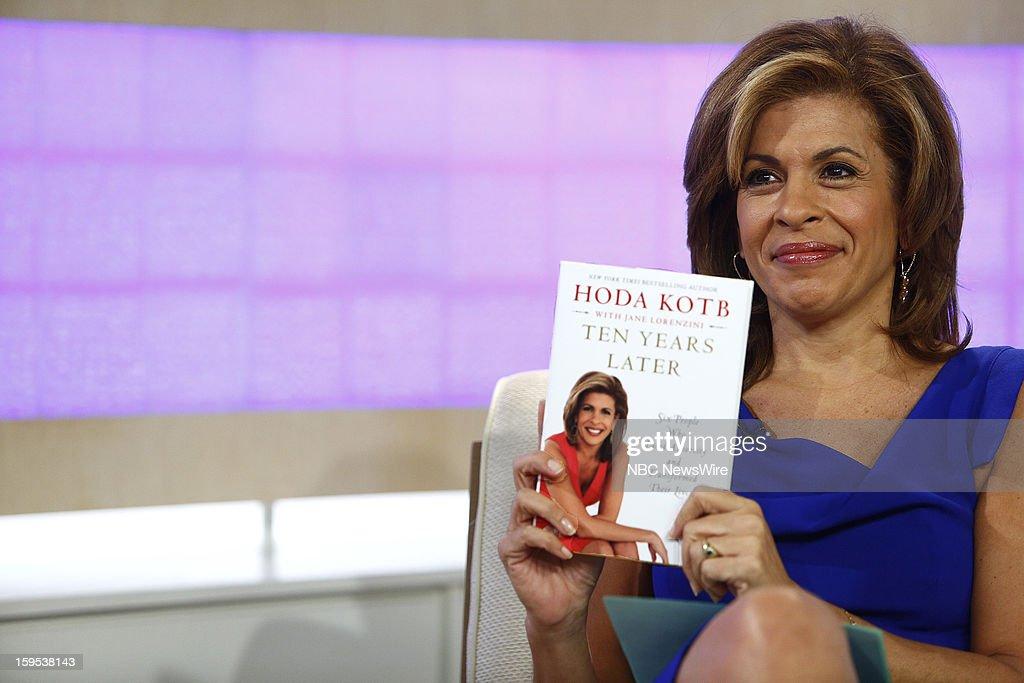 Hoda Kotb appears on NBC News' 'Today' show --