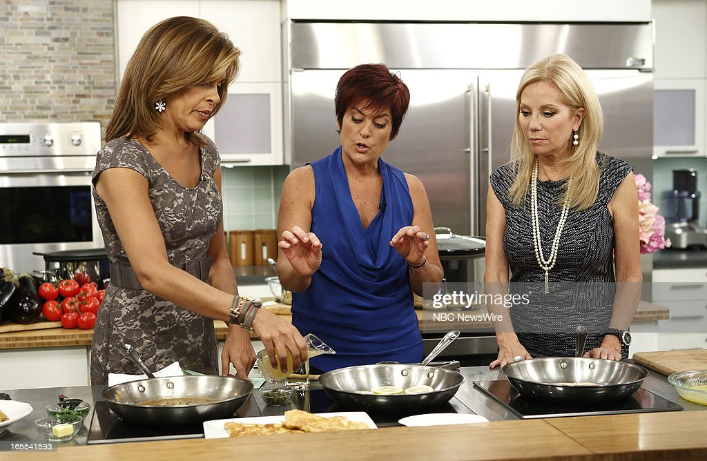 Hoda Kotb, Ariane Duarte and Kathie Lee Gifford appear on NBC News' 'Today' show --