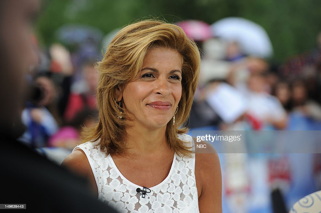 Hoda Kotb during the 2012 Summer Olympic Games on July 31, 2012 in London, England --