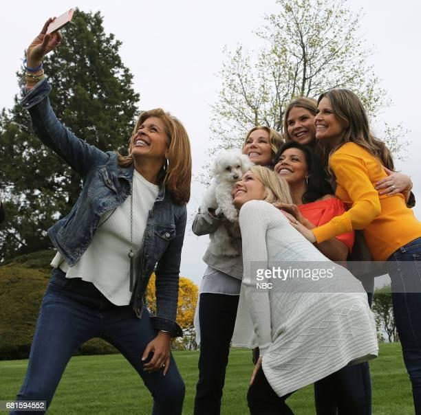 Hoda Kotb Dylan Dreyer Kathie Lee Gifford Sheinelle Jones Jenna Bush Hager and Savannah Guthrie on Thursday April 27 2017