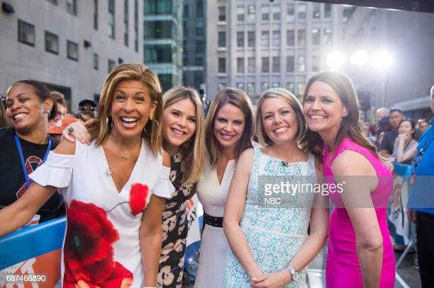 Hoda Kotb Jenna Bush Hager Natalie Morales Dylan Dreyer and Savannah Guthrie on Friday May19 2017