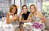 Hoda Kotb Jennifer Lopez and Kathie Lee Gifford appear on NBC News' 'Today' show