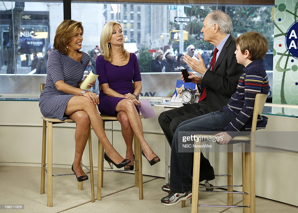 Hoda Kotb, Kathie Lee Gifford, Alan Alda and Simon O' Rourke appear on NBC News' 'Today' show --