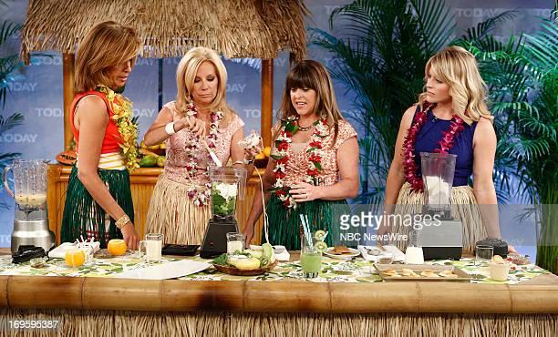 Hoda Kotb Kathie Lee Gifford Allison Fishman Task and Sara Haines appear on NBC News' 'Today' show