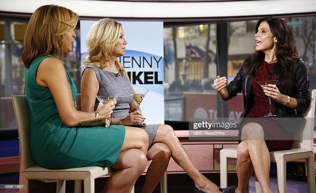 Hoda Kotb, Kathie Lee Gifford and Bethenny Frankel appear on NBC News' 'Today' show --