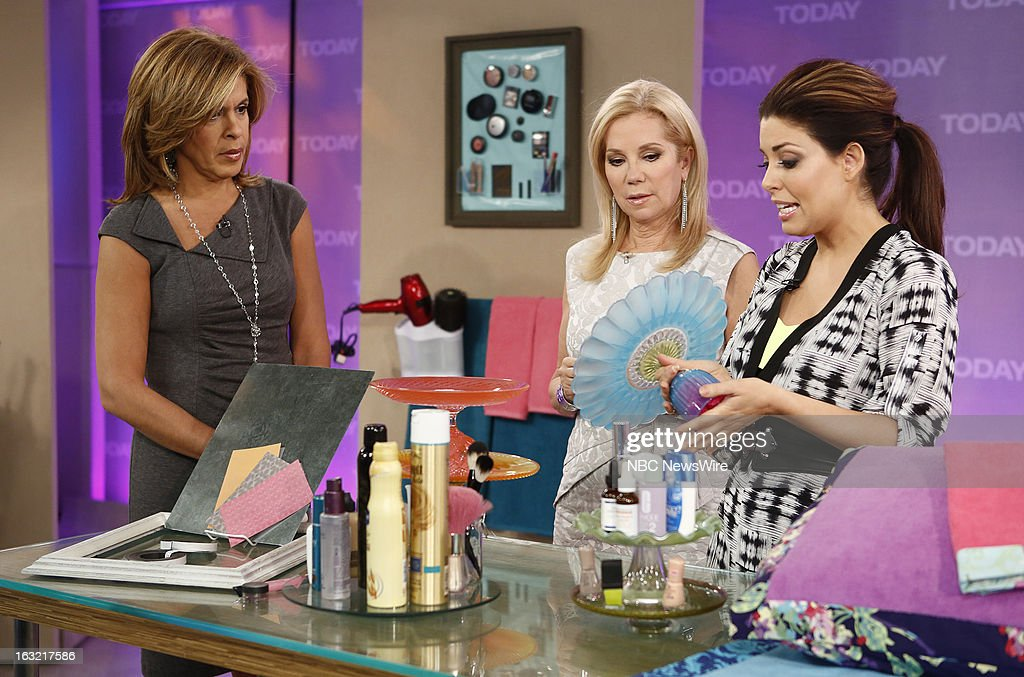 Hoda Kotb, Kathie Lee Gifford and Bobbie Thomas appear on NBC News' 'Today' show --