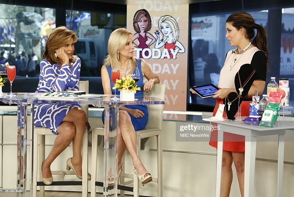 Hoda Kotb, Kathie Lee Gifford and Bobbie Thomas appear on NBC News' 'Today' show --
