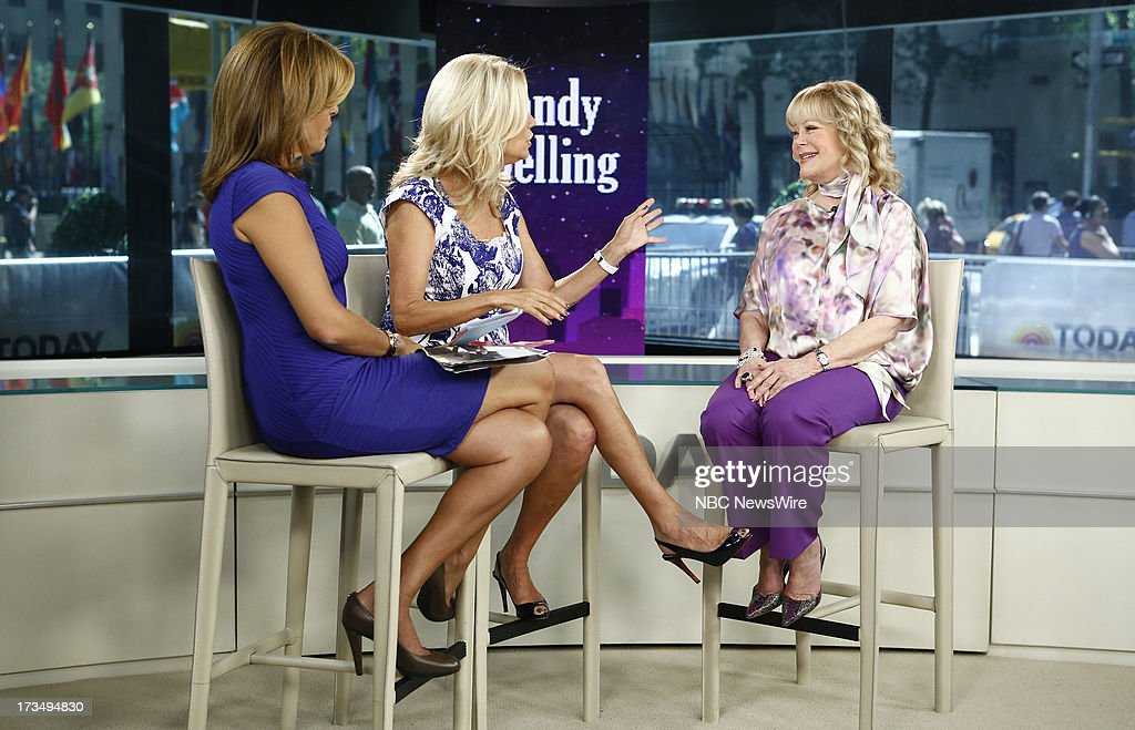 Hoda Kotb, Kathie Lee Gifford and Candy Spelling appear on NBC News' 'Today' show --
