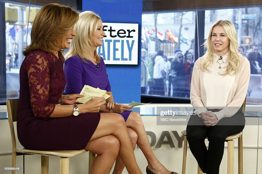 Hoda Kotb, Kathie Lee Gifford and Chelsea Handler appear on NBC News' 'Today' show --