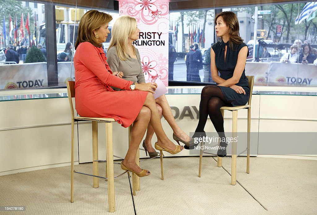 Hoda Kotb, Kathie Lee Gifford and Christy Turlington Burns appear on NBC News' 'Today' show --