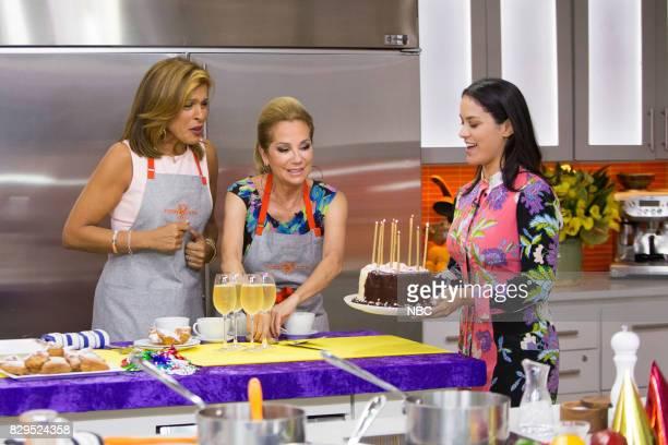 Hoda Kotb Kathie Lee Gifford and Donna Farizan on Wednesday Aug 9 2017