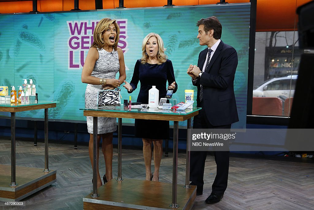 Hoda Kotb, Kathie Lee Gifford and Dr. Mehmet Oz appear on NBC News' 'Today' show --