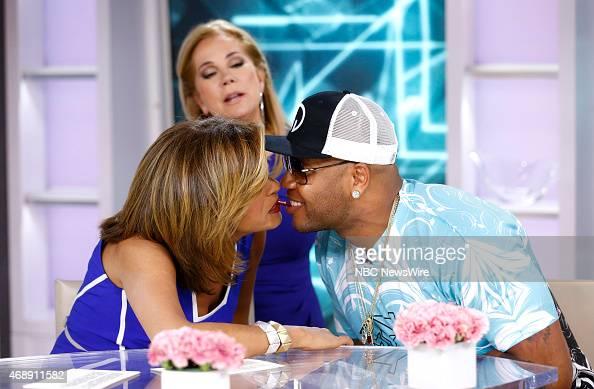 Hoda Kotb Kathie Lee Gifford and Flo Rida appear on NBC News' 'Today' show