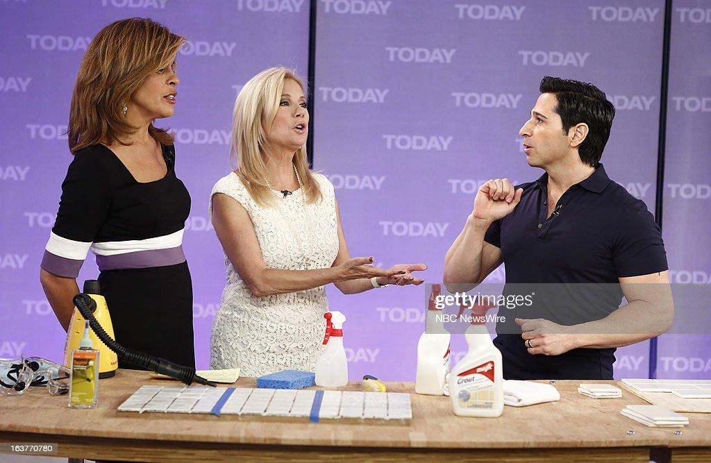 Hoda Kotb, Kathie Lee Gifford and Frank Fontana appear on NBC News' 'Today' show --
