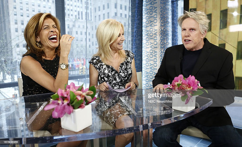 Hoda Kotb, Kathie Lee Gifford and Gary Busey appear on NBC News' 'Today' show --