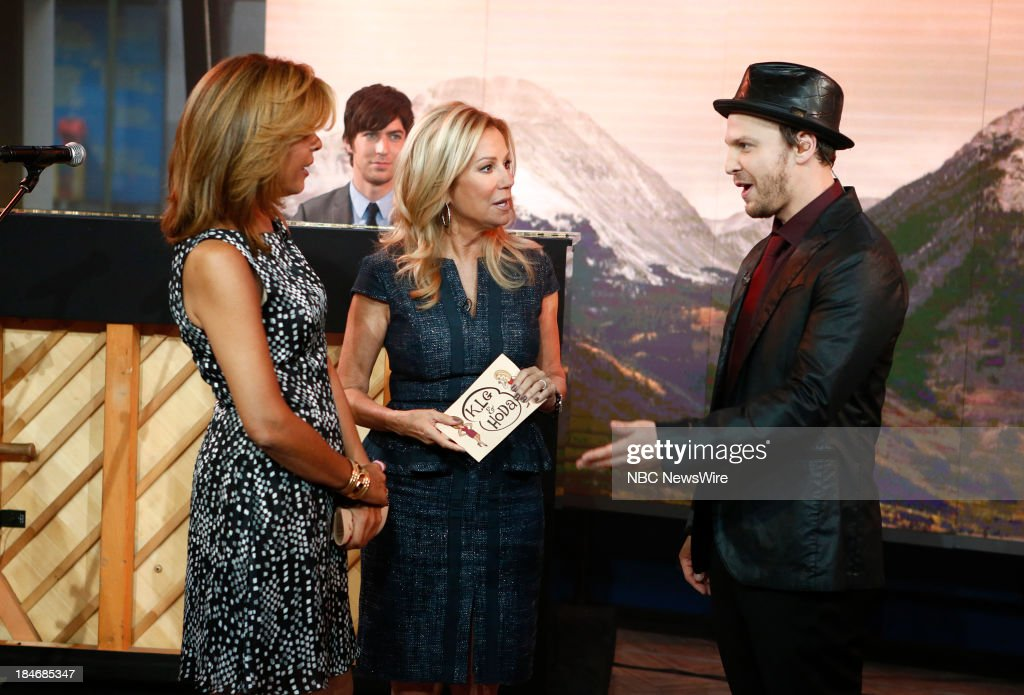 Hoda Kotb, Kathie Lee Gifford and Gavin DeGraw appear on NBC News' 'Today' show --