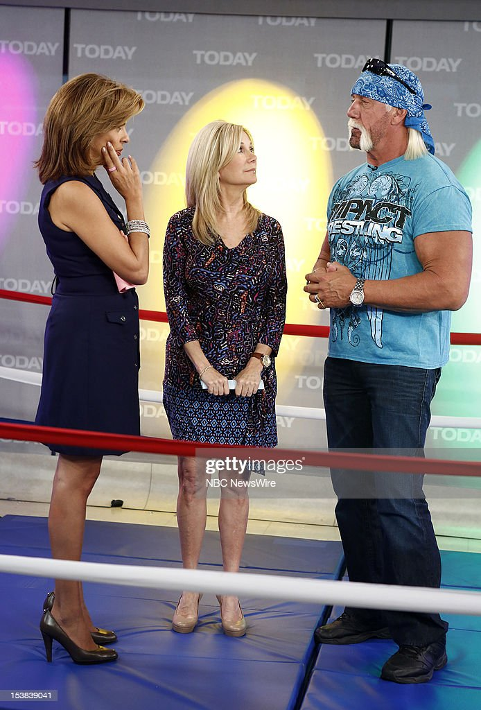 <a gi-track='captionPersonalityLinkClicked' href=/galleries/search?phrase=Hoda+Kotb&family=editorial&specificpeople=2338013 ng-click='$event.stopPropagation()'>Hoda Kotb</a>, <a gi-track='captionPersonalityLinkClicked' href=/galleries/search?phrase=Kathie+Lee+Gifford&family=editorial&specificpeople=203269 ng-click='$event.stopPropagation()'>Kathie Lee Gifford</a> and <a gi-track='captionPersonalityLinkClicked' href=/galleries/search?phrase=Hulk+Hogan&family=editorial&specificpeople=209432 ng-click='$event.stopPropagation()'>Hulk Hogan</a> appear on NBC News' 'Today' show --