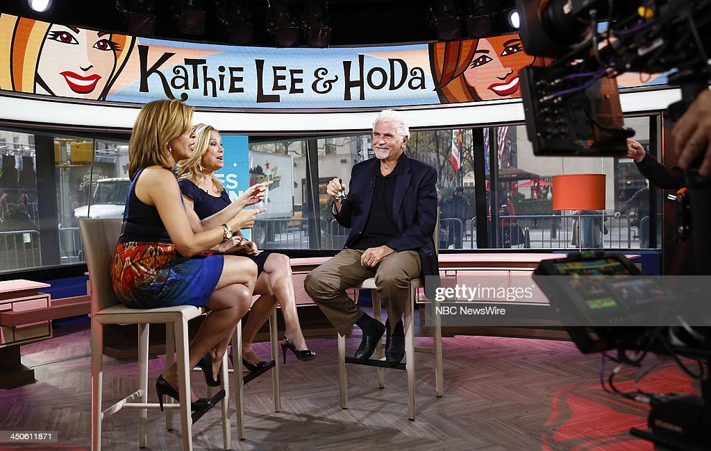 Hoda Kotb, Kathie Lee Gifford and James Brolin appear on NBC News' 'Today' show --